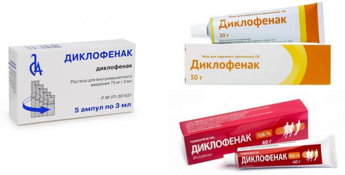 Диклофенак в лечении геморроя