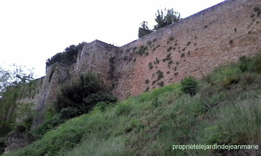 les remparts de Saint Macaire (Gironde)