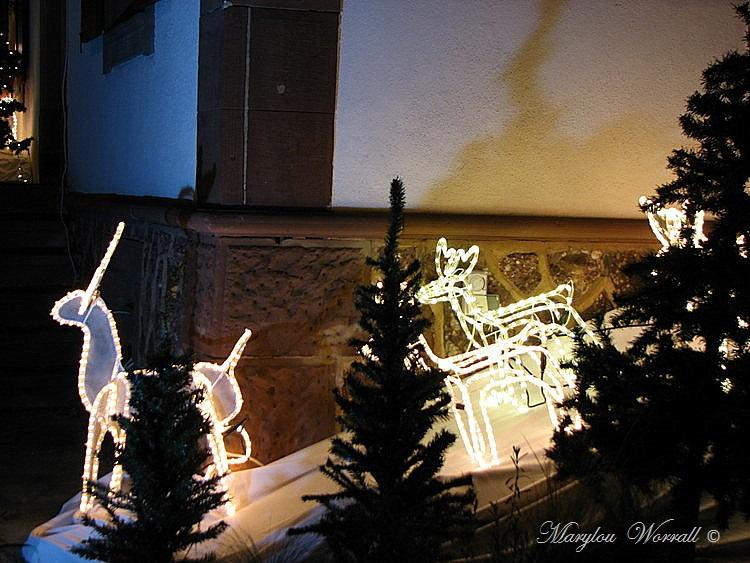 Noël en Alsace : Maisons décorées