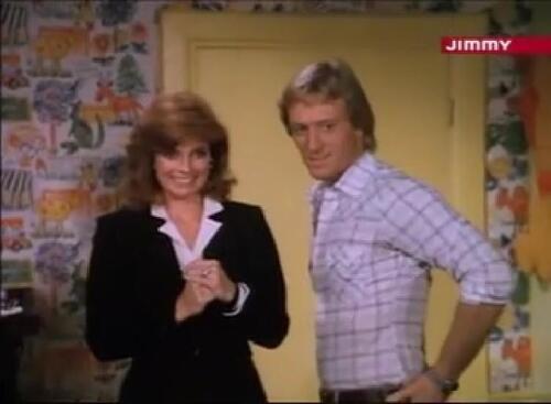 Sue Ellen et Gary Ewing.