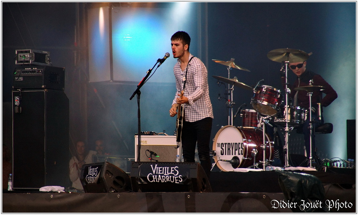 The Strypes / Vieilles Charrues 2015