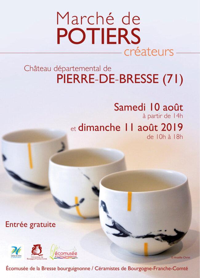 Marché de potiers de Pierre de Bresse
