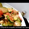 compotée tomate courgettes