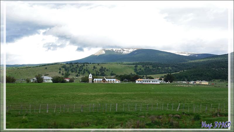 Estancia à Dos Lagunas - Route Puerto Natales / Cerro Castillo - Patagonie - Chili