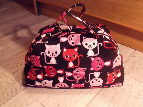 Sac valisette Chat