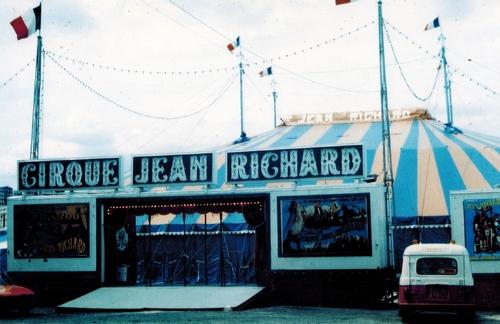 le cirque Jean Richard par Serge Fleury