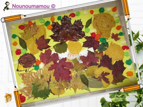 L'automne par Romane