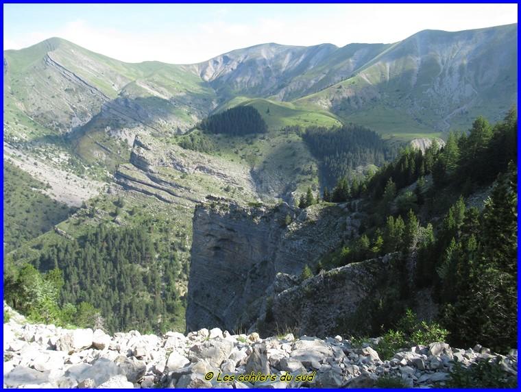 Devoluy, Chaudun par le sentier des cascades