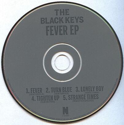 Les SINGLéS # 75 - The Black Keys - Fever EP (2014)