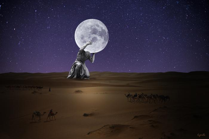 Quand on promet la lune.....