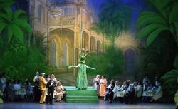 Bühnenbild: Botanischer Garten