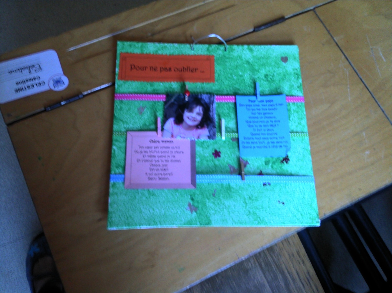 Souvent Cadeau de fête des parents - La classe de Lòrien IQ05