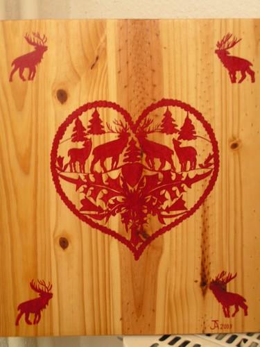 Mes peintures sur bois...