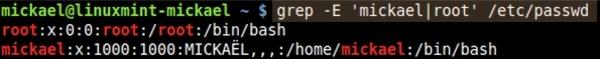 Utiliser la commande GREP