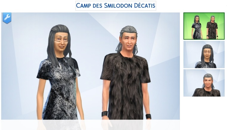 Le camp des Smilodon décatis