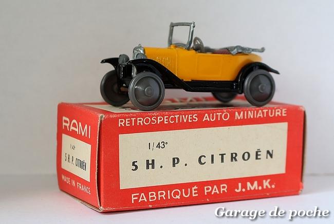 Citroën 5HP 1924 RAMI JMK