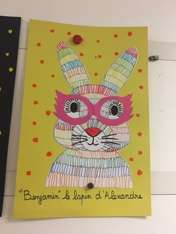 lapin maternelle