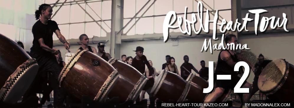 Madonna Rebel Heart Tour J-2