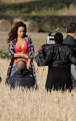 "Rihanna sur le tournage du clip de ""We Found Love"""