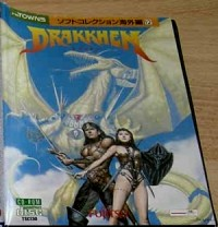 Drakkhen cover fmtowns