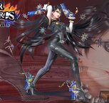 Super Smash Bros. (3DS / WiiU) - #3 - Bayonnetta [Perso DLC] (Création LGN) - 2048 x 1152