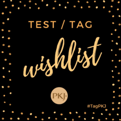 Test Tag PKJ #1 Wish list 2001