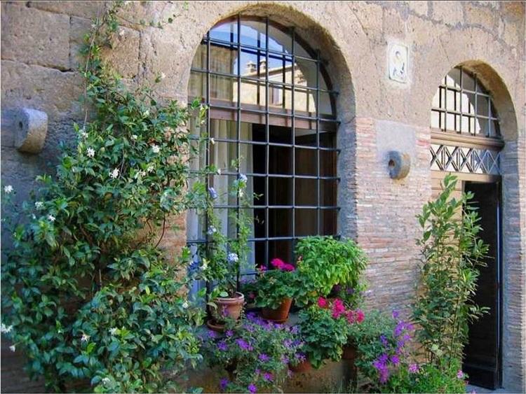Images du monde : Village de Toscane