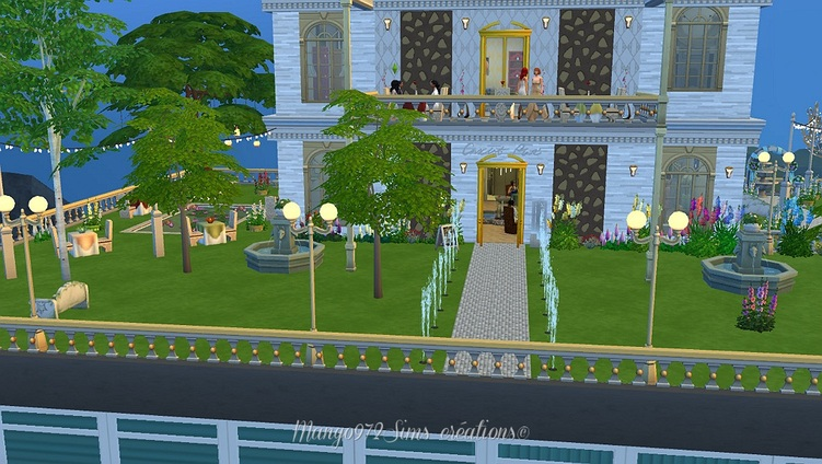 Sims  4 : le restaurant le Nirvana