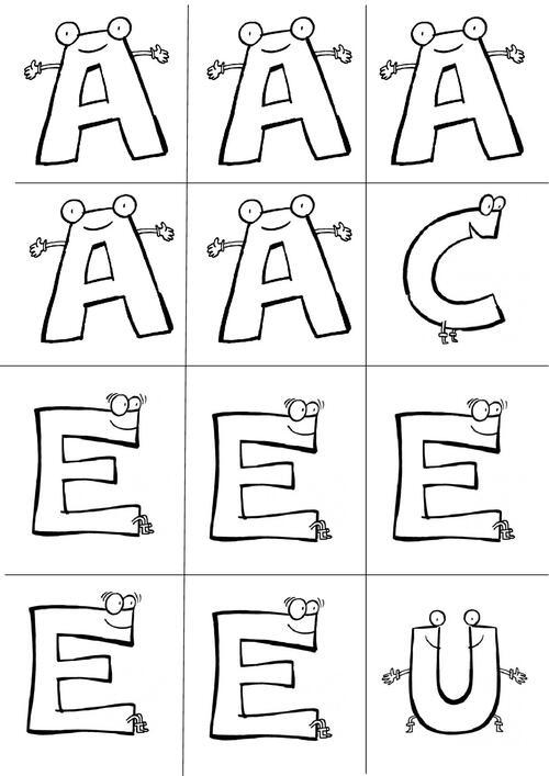 Alphabet prénom à décorer