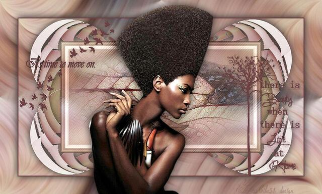 AF0016 - Tube femme africaine