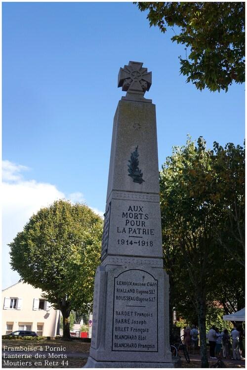 Monuments aux morts - Les Moutiers en retz 44