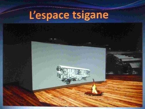Scénographie pour le camp de Montreuil-Bellay