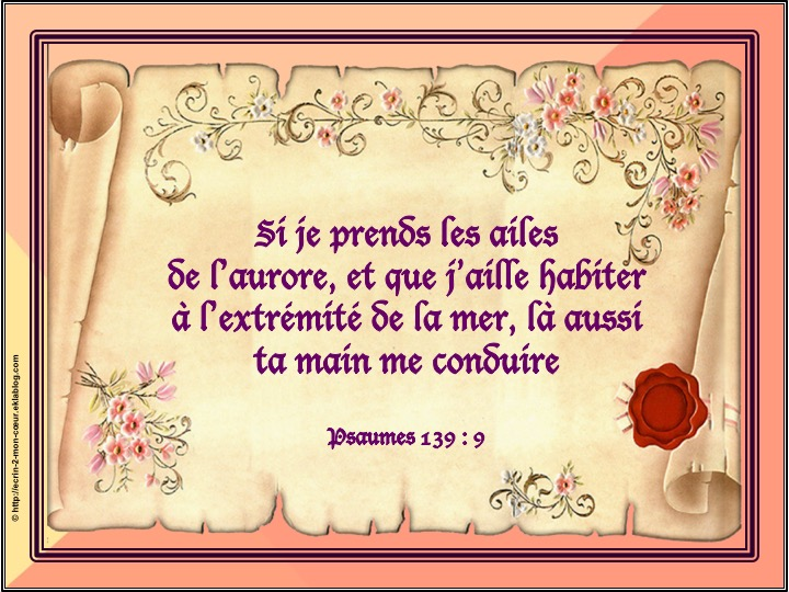 Ronde Versets du coeur 132