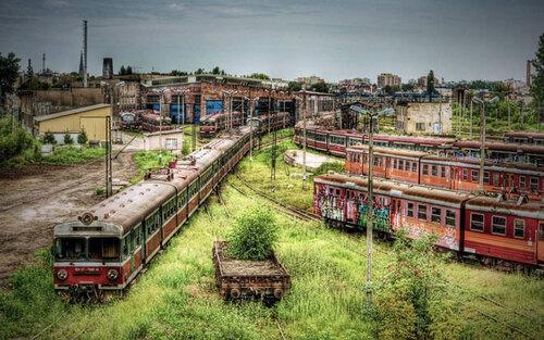 Des lieux abandonnés.....