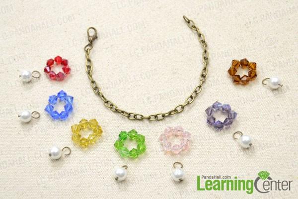 Comment Faire Un Bracelet A Breloque De Fleur Avec Des Perles