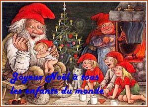 joyeux Noël à tous les enfants du monde