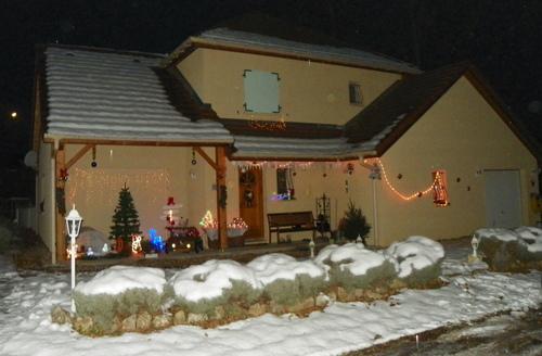 Les décorations de Noël chez Diane