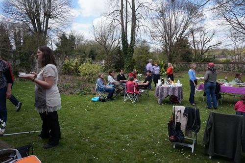 Garden Party chez Claire