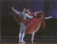 Avec Manuel Legris dans le Pas de deux du IIème Acte de Don Quichotte