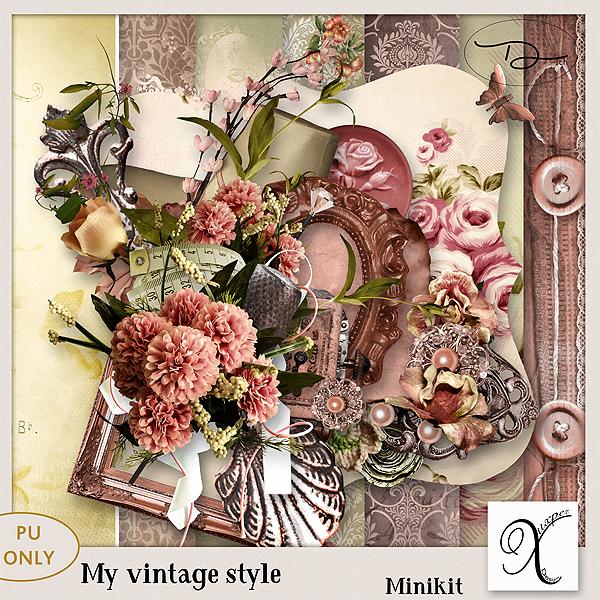 My vintage style Minikit