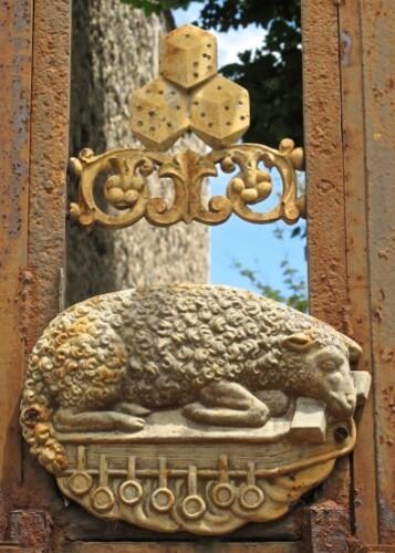 Croix de mission Lunas dés agneau