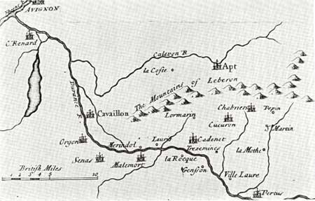 Les villages vaudois du Luberon