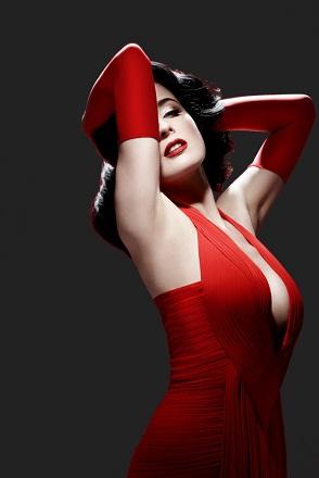 La robe rouge ...