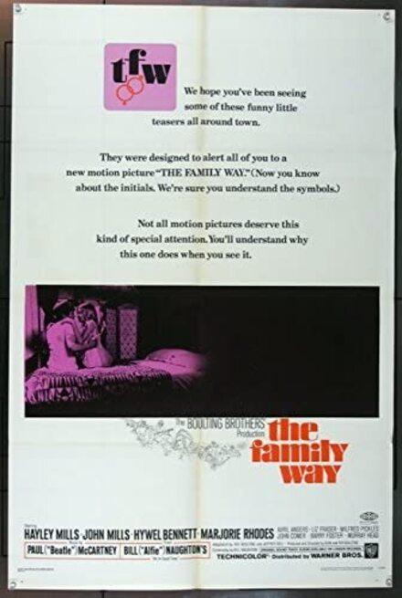 THE FAMILY WAY BOX OFFICE USA 1967