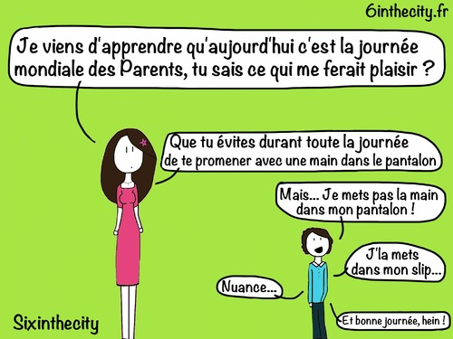 Journée mondiale des Parents