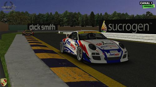 Team Fastway Couriers Porsche 997 CupR
