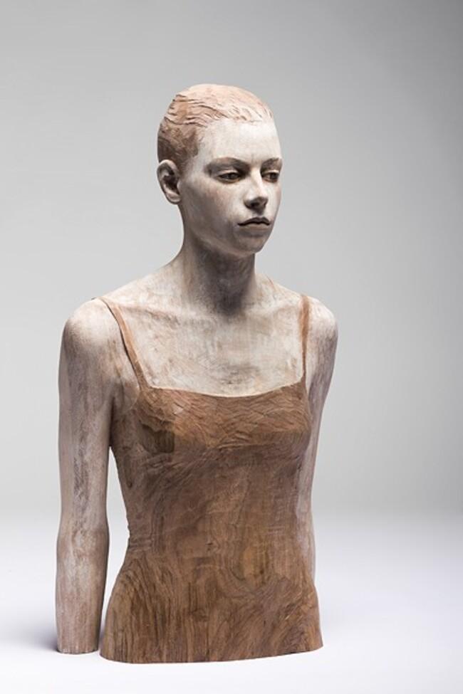 Les sculptures en bois de Bruno Walpoth