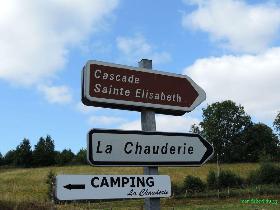 La Tour d'Auvergne (63) cascade Elisabeth