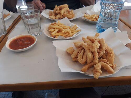 Calamars frites