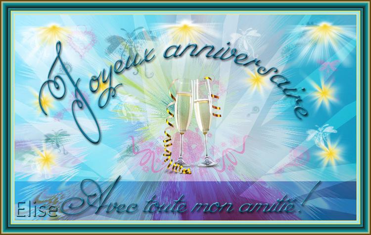 Joyeux anniversaire Sylounette